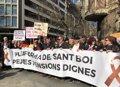 MILES DE PENSIONISTAS SE MANIFIESTAN EN BARCELONA EN DEFENSA Y AUMENTO DE LAS PENSIONES