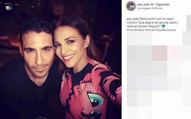 Paula Echevarría y Miguel Ángel Silvestre, juntos en 'Los Ángeles'