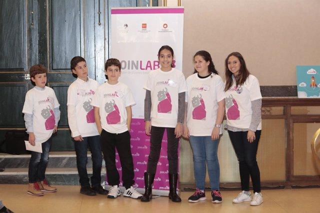 Taller Joinlab para jóvenes inventores 17/03/2018