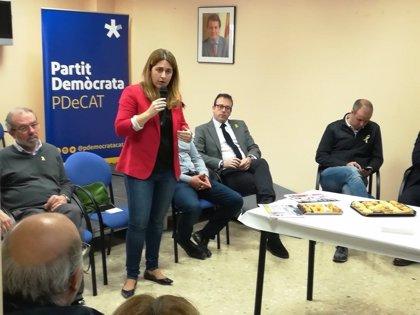 """Pascal (PDeCAT) pide iniciar la legislatura para """"dar estabilidad"""" a Catalunya"""