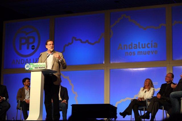 Mariano Rajoy interviene en un acto en Marbella (Málaga)