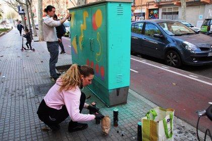 """Realizan en Palma una intervención de arte urbano """"participativo y feminista"""" para conmemorar el 8M"""