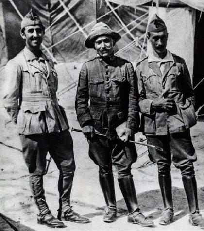 La Comandancia de Melilla recuerda al comandante Carlos Rodríguez Fontanés, muerto en 1922 tras el desastre de Annual