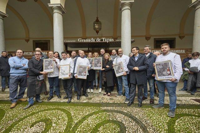 Premiados en la X edición de Granada de Tapas