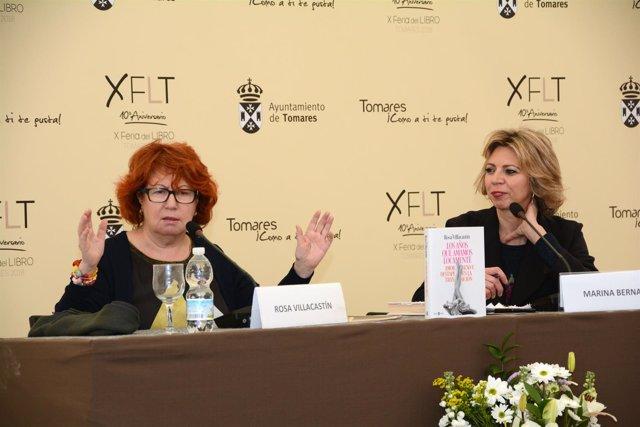 Rosa Villacastín en la X Feria del Libro de Tomares