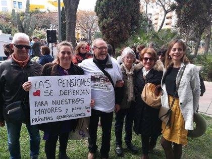 Podemos Ibiza participa en la protesta de este sábado por las pensiones dignas