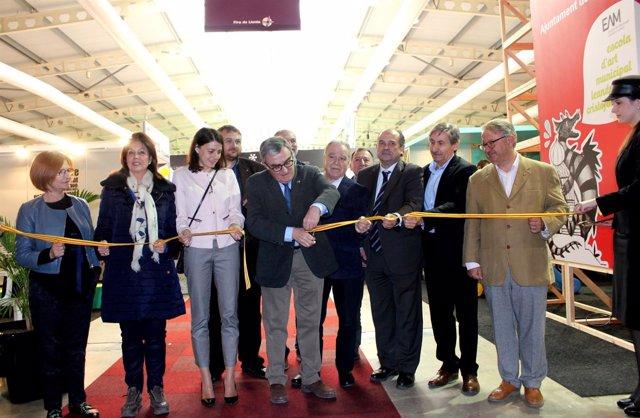 Inauguración de la Feria.