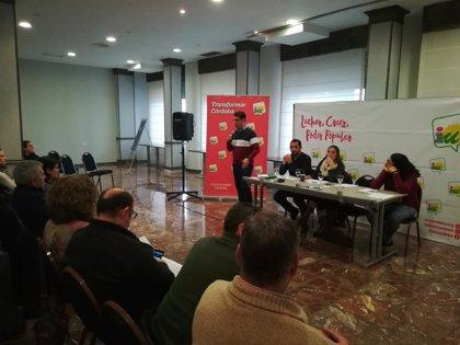 """La Coordinadora Provincial de IU Córdoba analiza """"cómo trabajar las confluencias"""" de cara a próximas elecciones"""