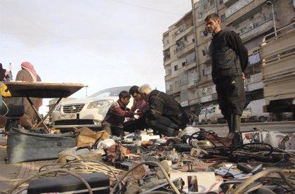 Diez civiles muertos por obuses lanzados desde Ghuta Oriental sobre Damasco