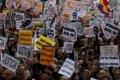 UNA MULTITUDINARIA MANIFESTACION RECORRE EL CENTRO DE MADRID PARA RECLAMAR UNA PENSION JUSTA