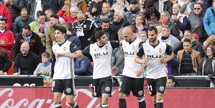 Zaza y Rodrigo guían al Valencia y el Betis se acerca a Europa