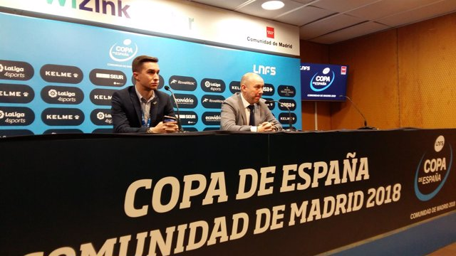 El entrenador del Jaén Paraíso Interior, Dani Rodríguez