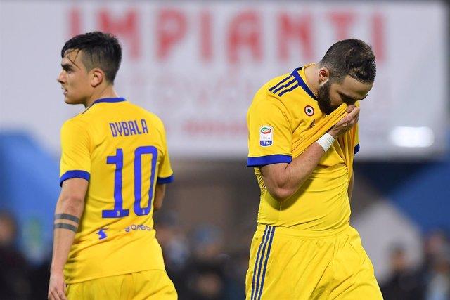 La Juventus empaña su gran semana en casa del SPAL