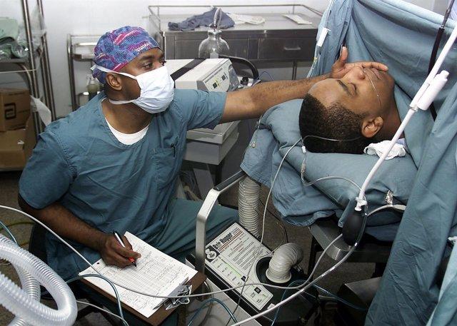 Cirugía con anestesia