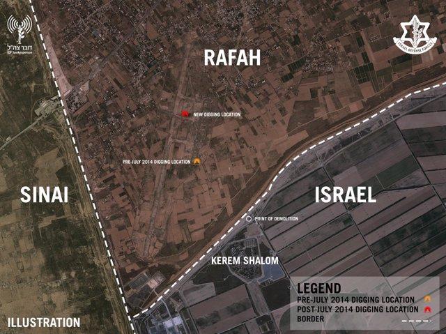 Túnel subterráneo Hamás