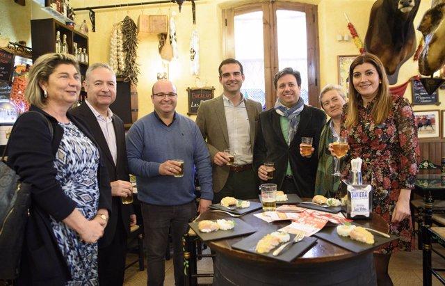 El alcalde de Almería anima a participar en la XI Ruta de la Tapa