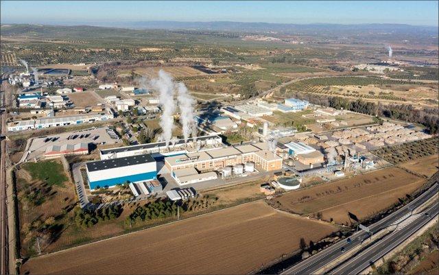 Vista de la planta Smurfit Kappa Mengíbar.