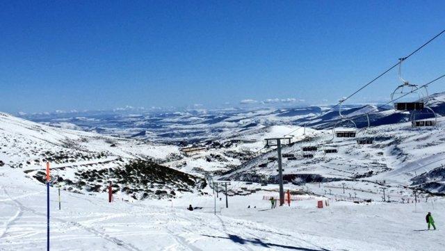 La estación de esquí de Alto Campoo