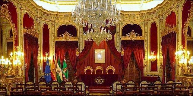 Salón Regio de la Diputación Provincial de Cádiz