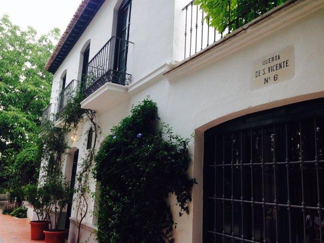 Huerta de San Vicente, residencia de verano de García Lorca