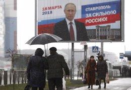 Propaganda electoral de Rusia
