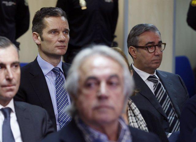"""La Fiscalía pide más pena para Urdangarin y Torres por haber sido el """"motor"""" del delito en Nóos"""