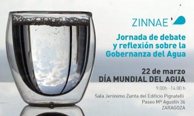 Jornada de debate y reflexión sobre la gobernanza del agua en Zaragoza.