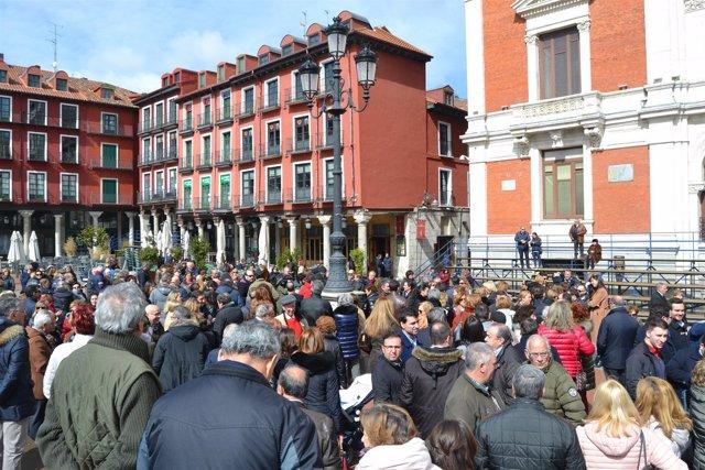 Valladolid (18-03-2018).- Concentración por la prisión permanente revisable