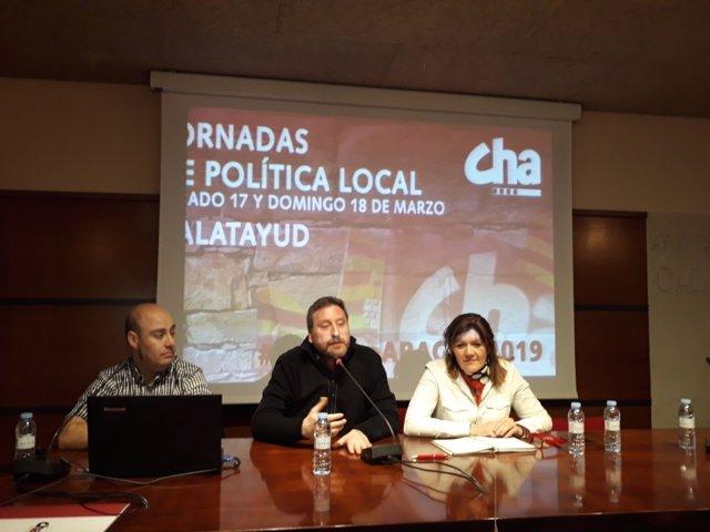 Jornadas sobre política local de CHA.
