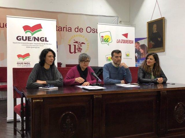 Jornada de IU sobre la PAC en Osuna (Sevilla)