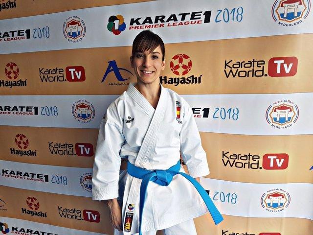 Sandra Sánchez karate katas