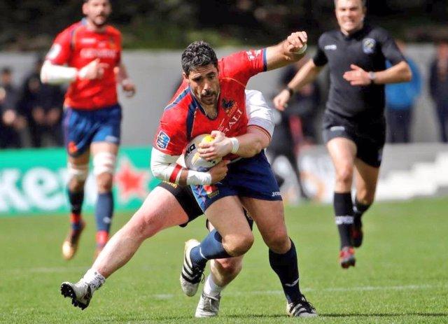 Jaime Nava capitán selección española rugby España