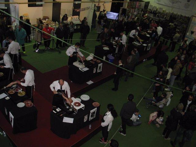 VII Concurso Nacional de Cortadores de Jamón de Corteconcepción