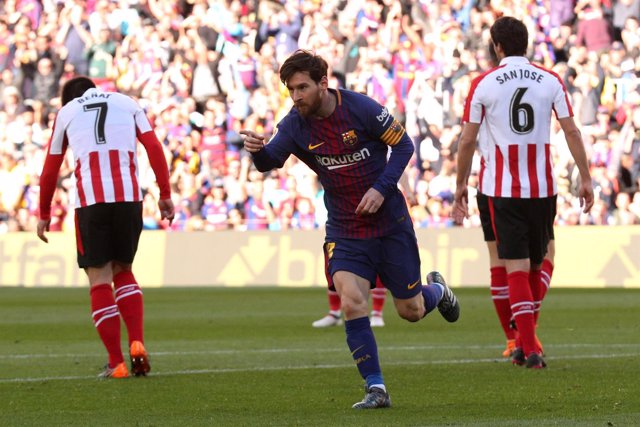 Leo Messi FC Barcelona Athletic