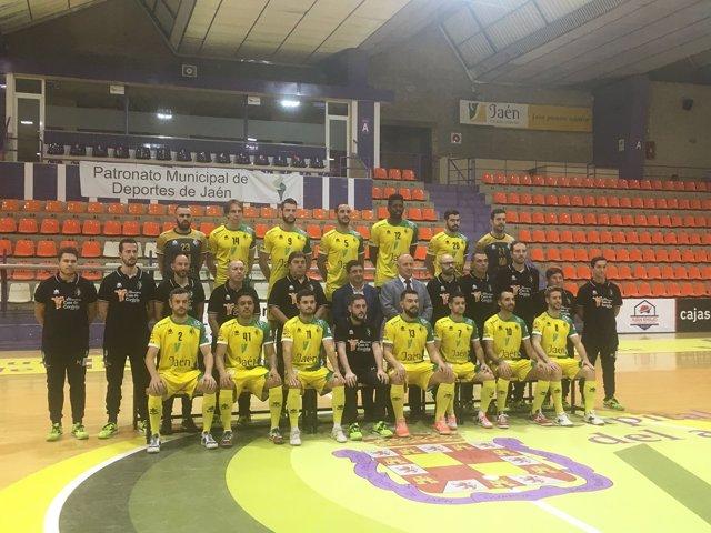 Foto oficial del Jaén Paraíso Interior Fútbol Sala