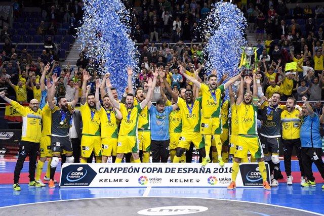 Cuadro Y Crónica Movistar Inter Jaén Paraíso Interior Copa De España Comunidad D