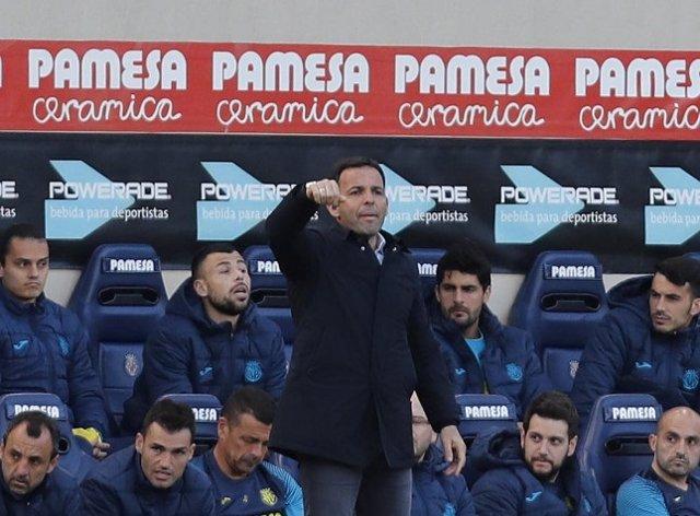 El entrenador del Villarreal, Javi Calleja
