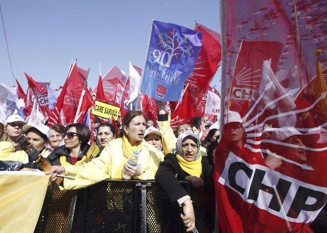 Elecciones en Turquía. CHP