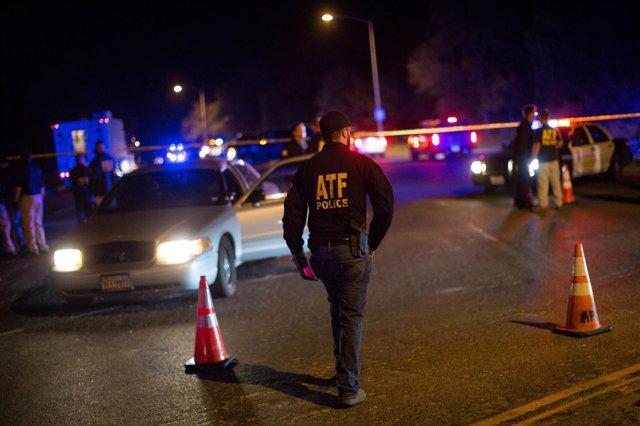 Autoridades mantienen un cordón cerca del sitio de una explosión en Austin