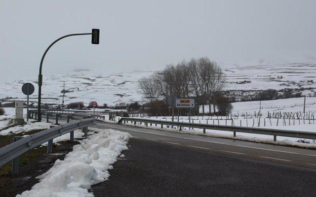 AEMET amplía los avisos por nieve