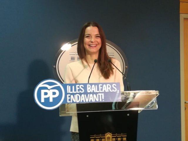 Margalidad Prohens, diputada y portavoz del PP en el Parlament