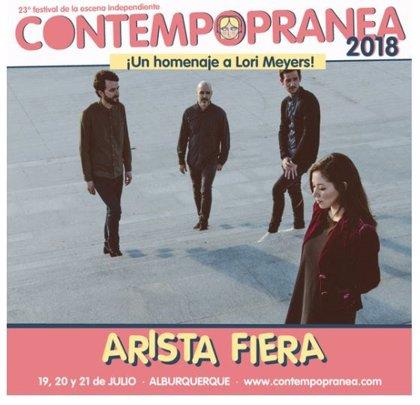 La formación Arista Fiera, ganadora del concurso del Festival Contempopranea 'Alta Fidelidad' homenaje a Lori Meyers