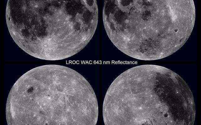 VÍDEO Una visión única de la Luna, en rotación