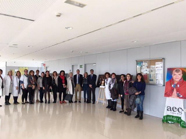 El Hospital Valle Del Guadalhorce Acoge Estos Días La Exposición De La Asociació