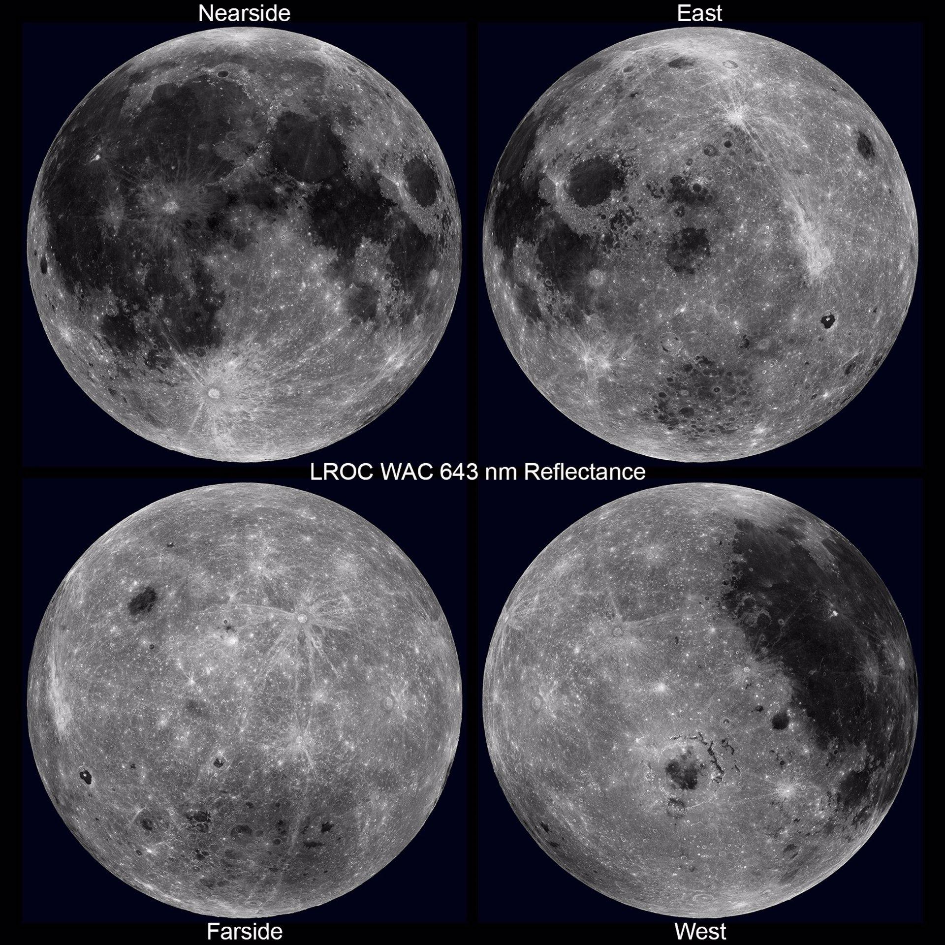Una Visi U00f3n  U00fanica De La Luna  En Rotaci U00f3n