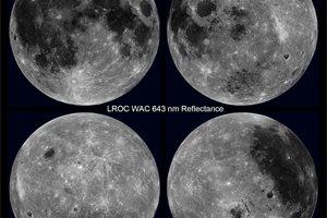 Una visión única de la Luna, en rotación