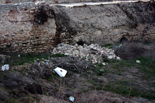 Imagen del derrumbe