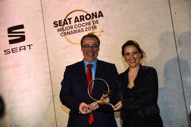 El Seat Arona, 'Mejor Coche de Canarias 2018'