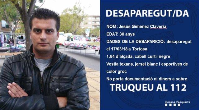 Buscan a un desaparecido en Tortosa
