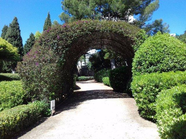 Los jardines de Marivent se cerrarán al público entre los días 21 de marzo y 4 de abril